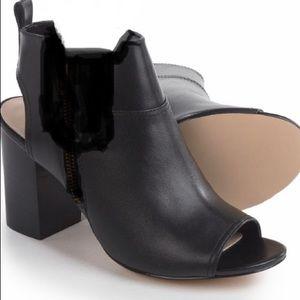 Cole Haan slingback booties